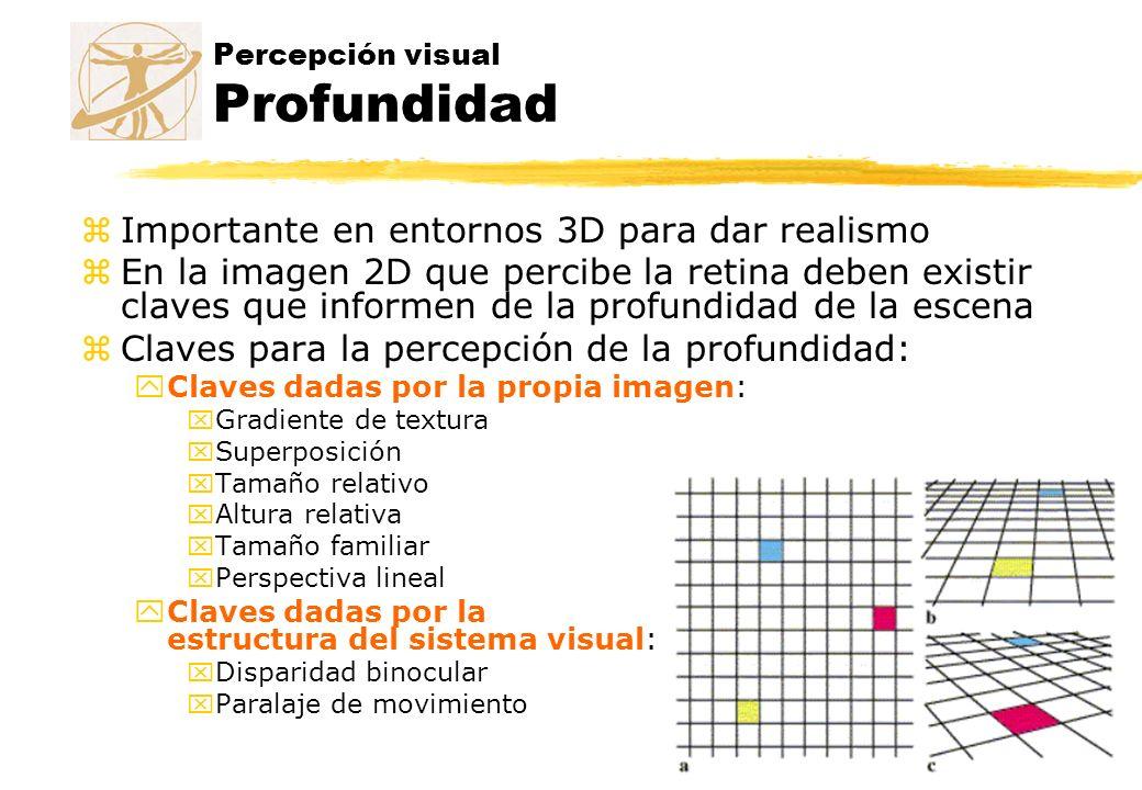 Percepción visual Profundidad