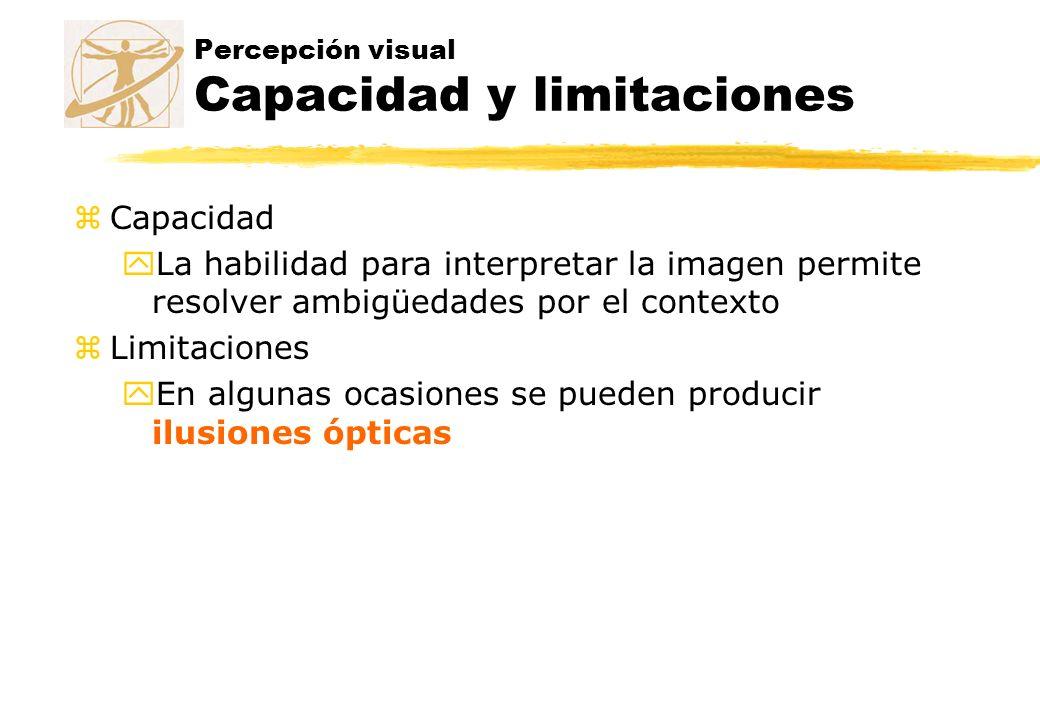 Percepción visual Capacidad y limitaciones