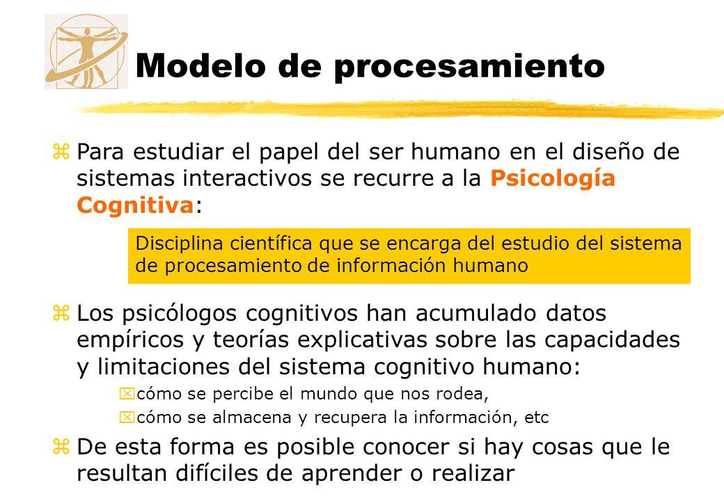 Modelo de procesamiento