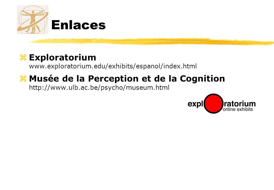 Enlaces Exploratorium www.exploratorium.edu/exhibits/espanol/index.html.