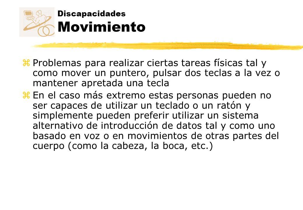 Discapacidades Movimiento