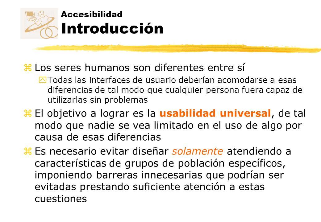 Accesibilidad Introducción