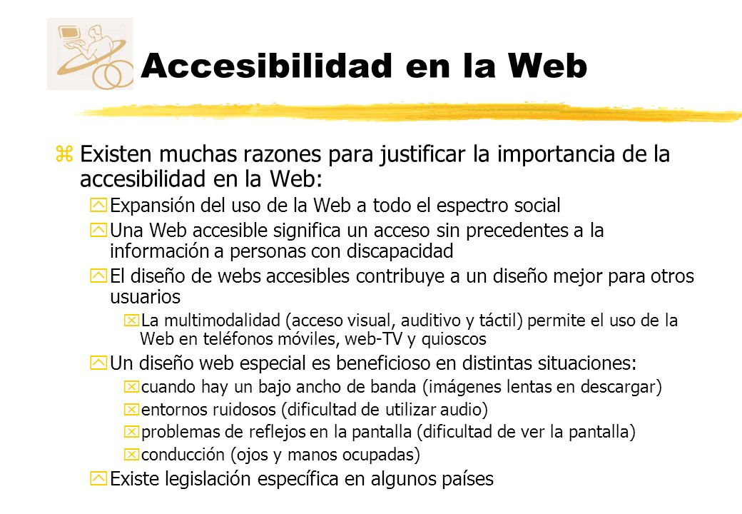 Accesibilidad en la Web