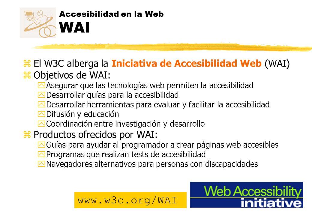 Accesibilidad en la Web WAI
