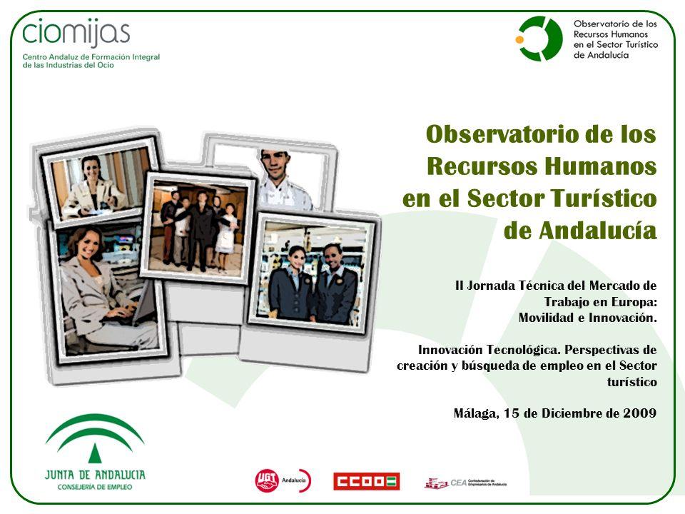 Observatorio de los Recursos Humanos en el Sector Turístico