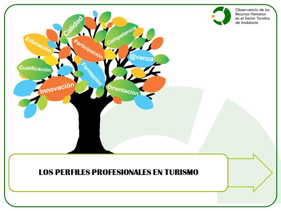 LOS PERFILES PROFESIONALES EN TURISMO