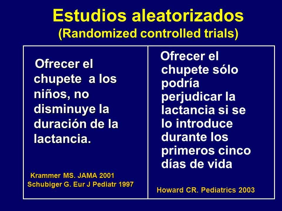 Estudios aleatorizados (Randomized controlled trials)