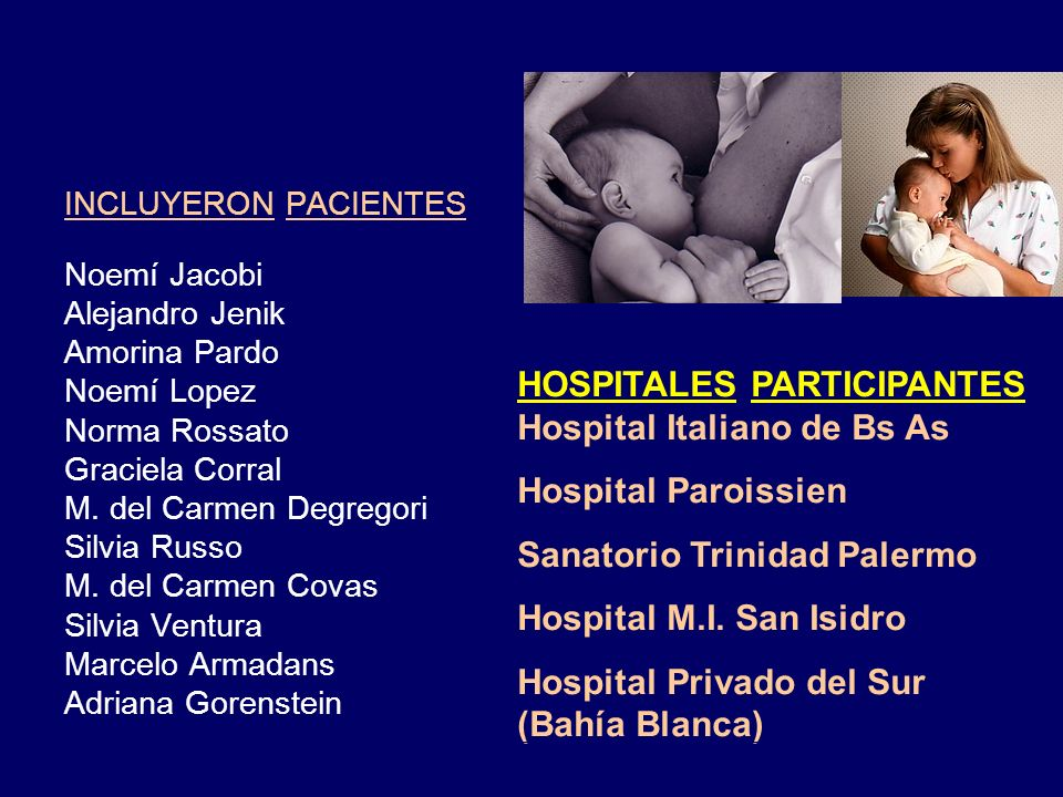 HOSPITALES PARTICIPANTES Hospital Italiano de Bs As