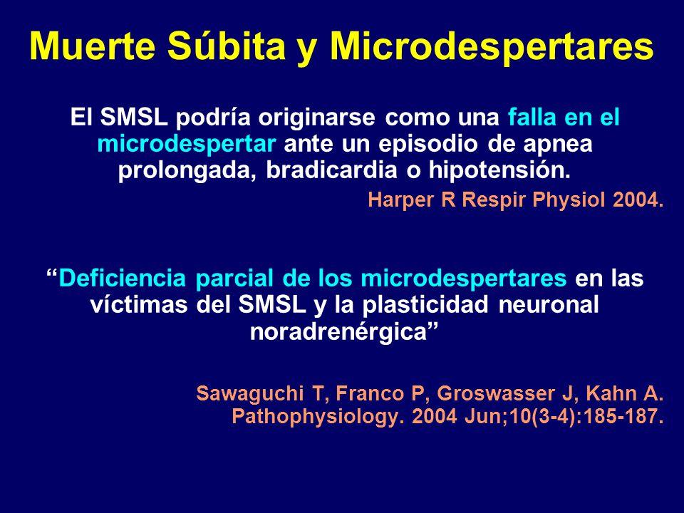 Muerte Súbita y Microdespertares