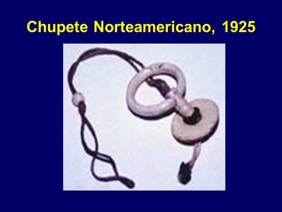 Chupete Norteamericano, 1925