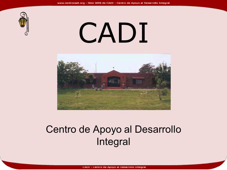 Centro de Apoyo al Desarrollo Integral
