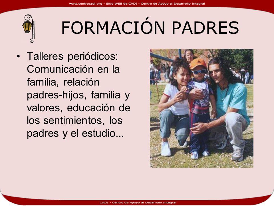 FORMACIÓN PADRES