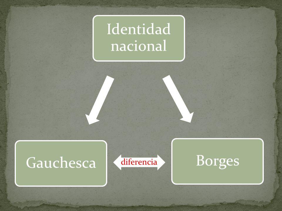 Identidad nacional Borges Gauchesca