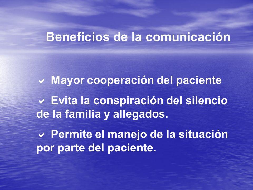 Beneficios de la comunicación