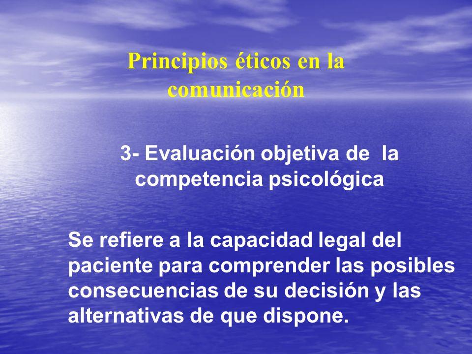 Principios éticos en la comunicación