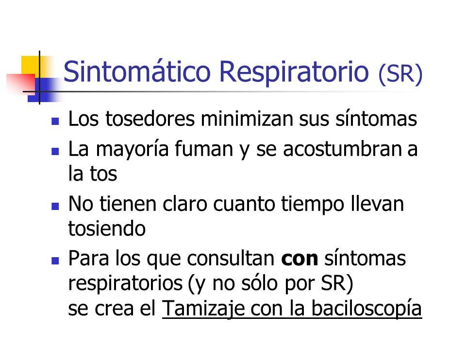 Sintomático Respiratorio (SR)