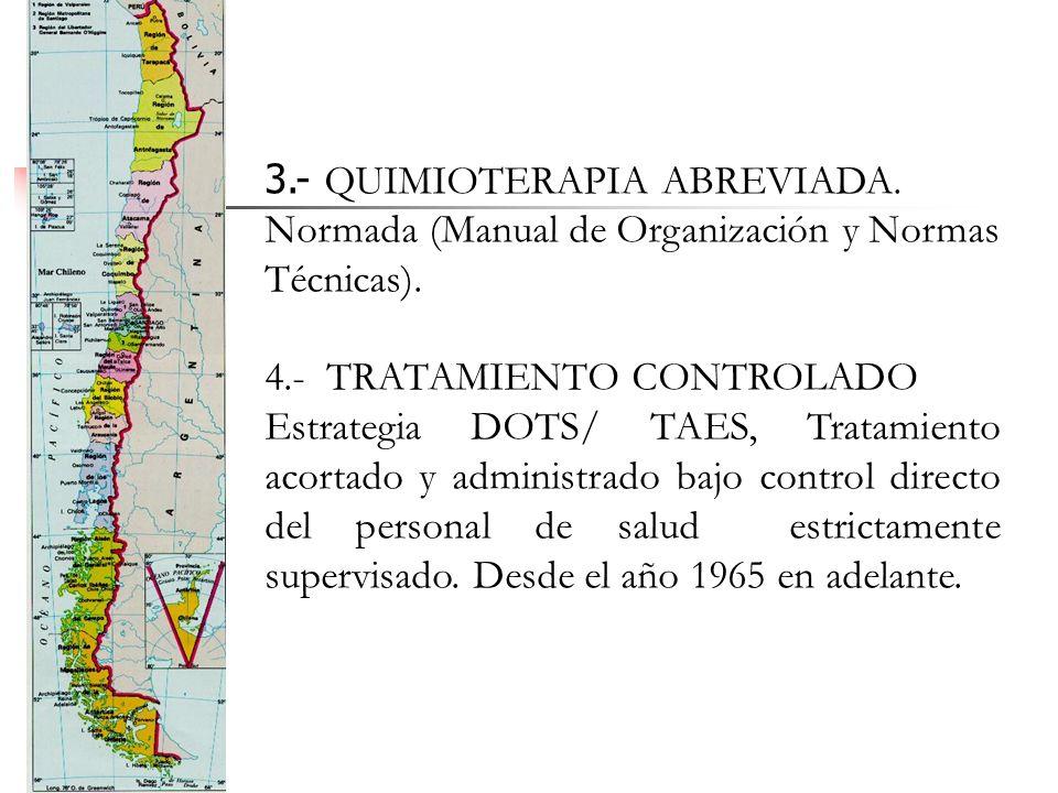 3. - QUIMIOTERAPIA ABREVIADA