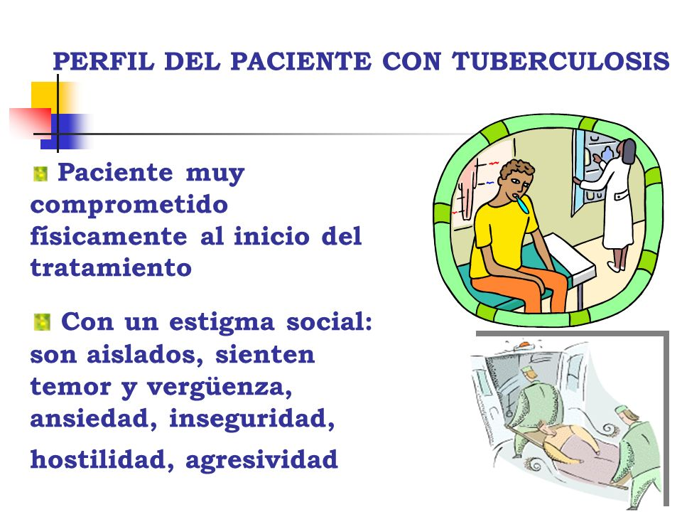 PERFIL DEL PACIENTE CON TUBERCULOSIS