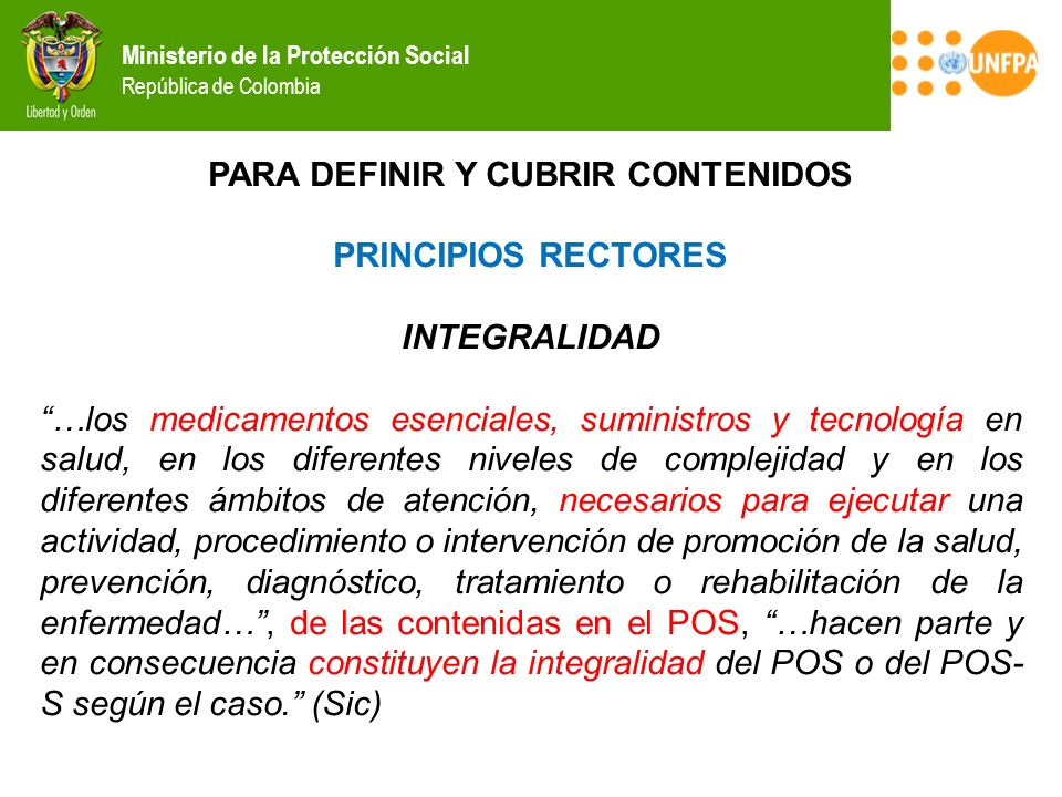 PARA DEFINIR Y CUBRIR CONTENIDOS