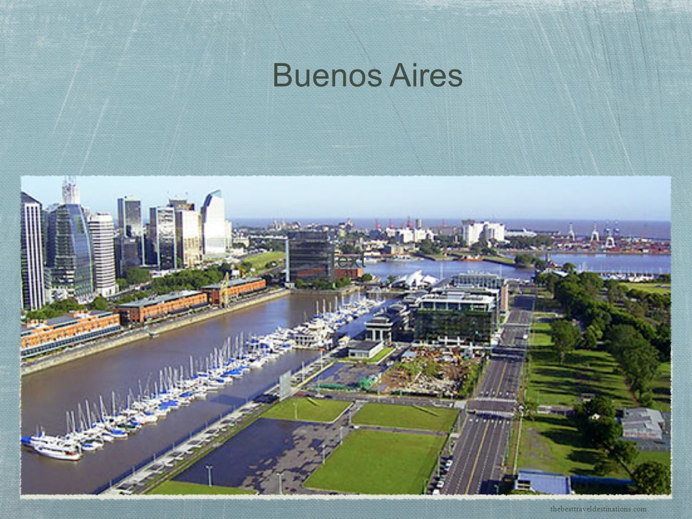 Buenos Aires Text thebesttraveldestinations.com