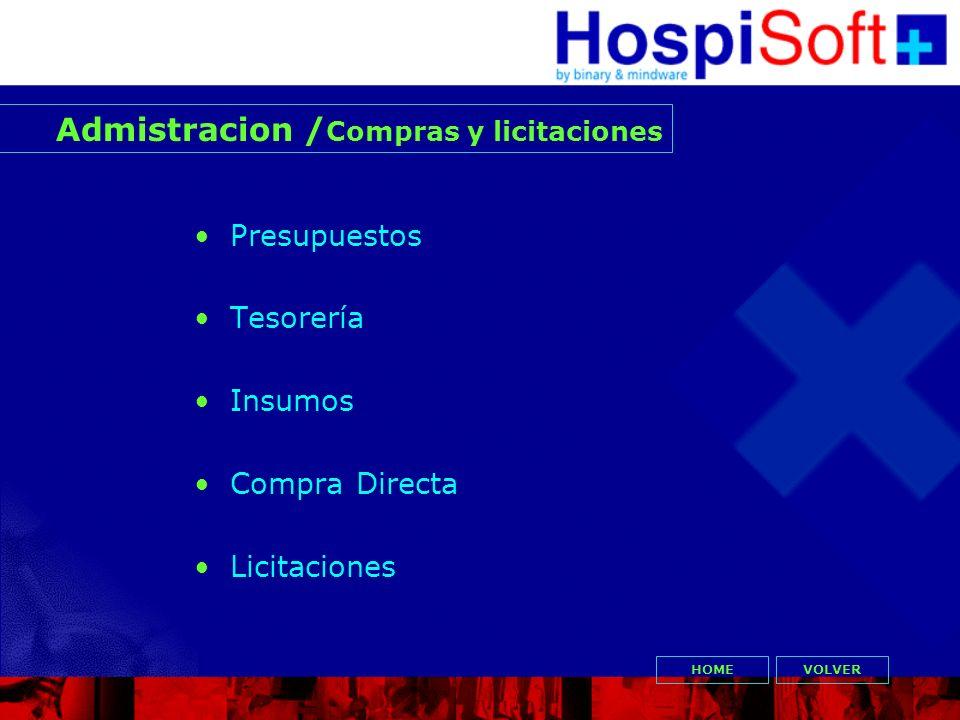 Admistracion /Compras y licitaciones