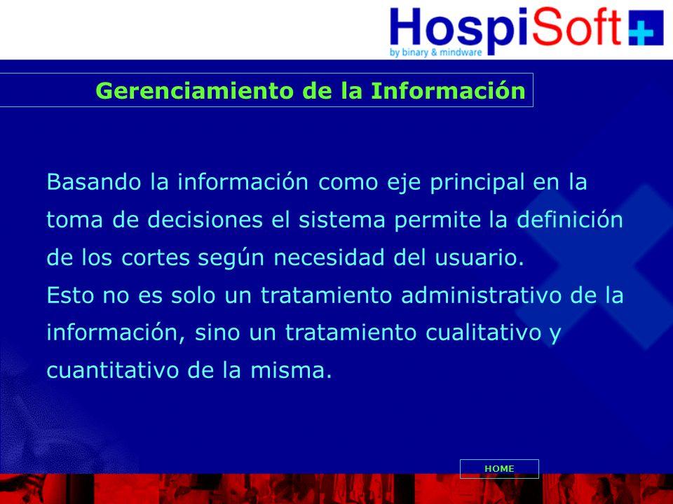 Gerenciamiento de la Información
