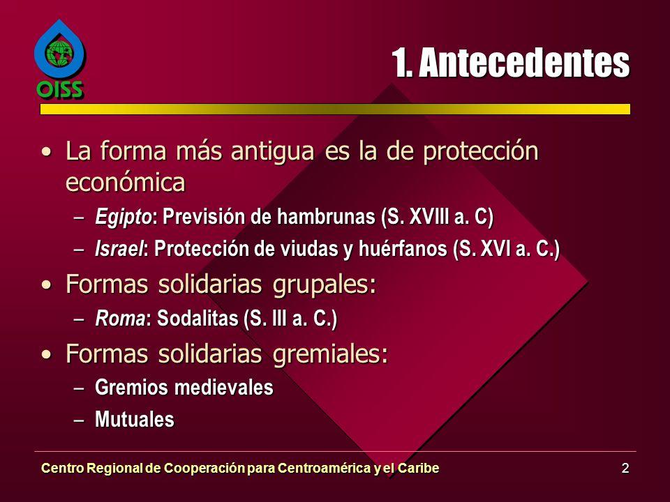1. Antecedentes La forma más antigua es la de protección económica