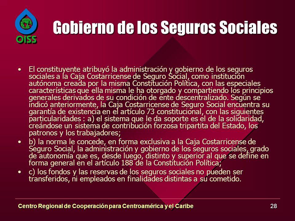 Gobierno de los Seguros Sociales