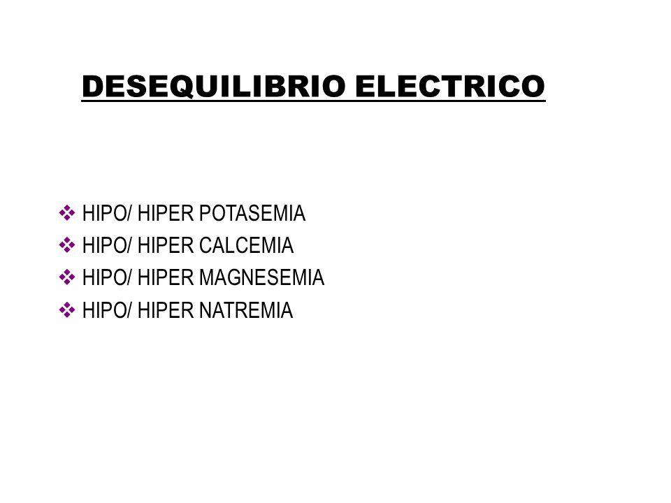DESEQUILIBRIO ELECTRICO