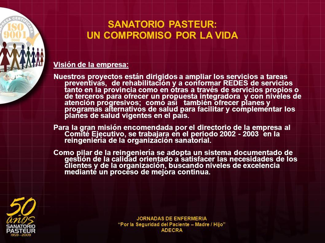 SANATORIO PASTEUR: UN COMPROMISO POR LA VIDA