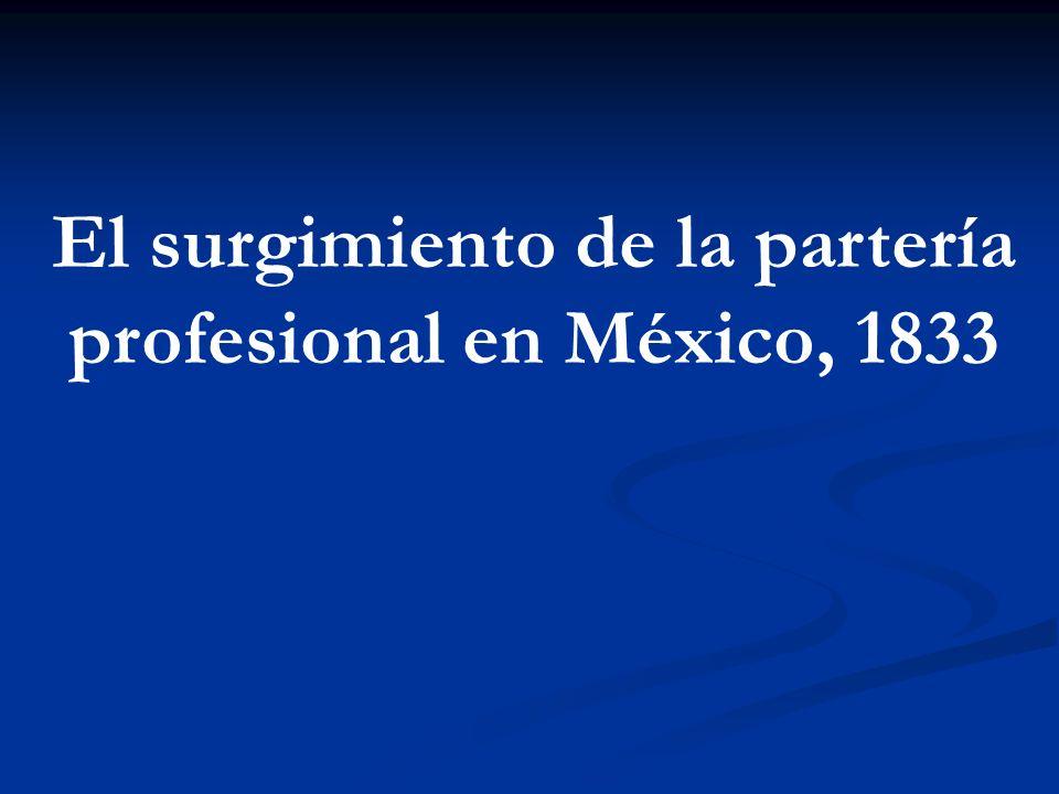 El surgimiento de la partería profesional en México, 1833