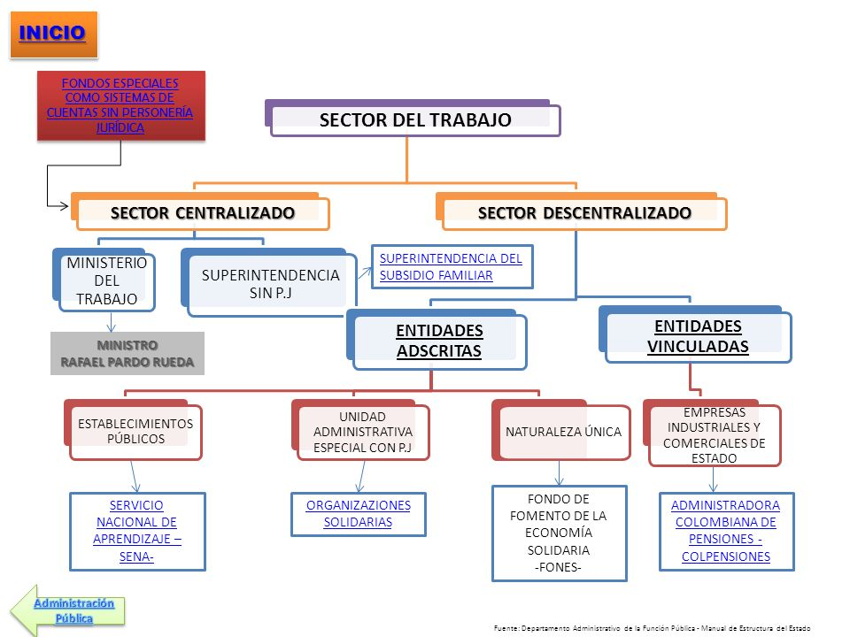 SECTOR DESCENTRALIZADO
