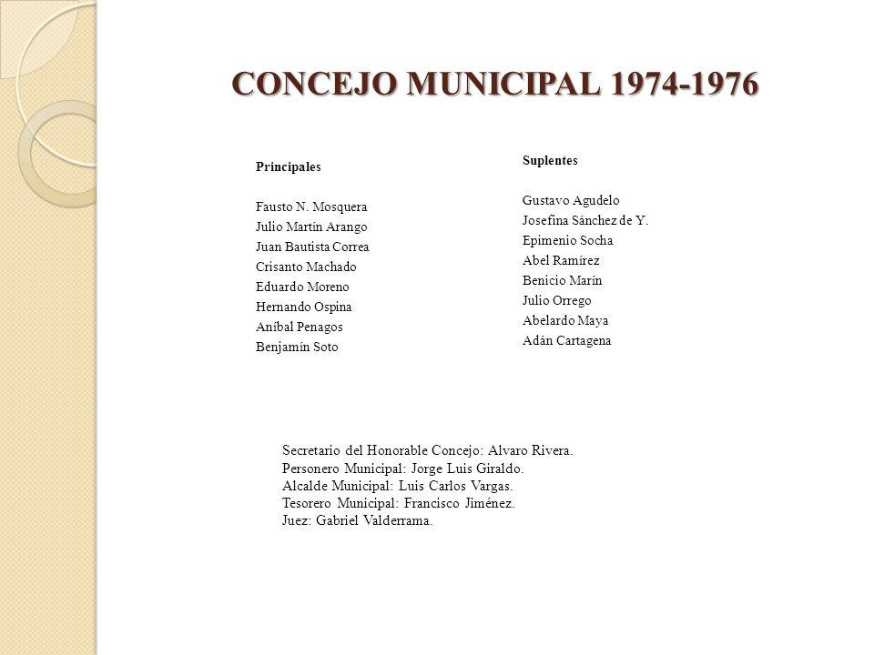 CONCEJO MUNICIPAL 1974-1976