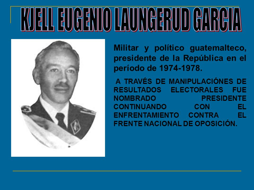 KJELL EUGENIO LAUNGERUD GARCIA