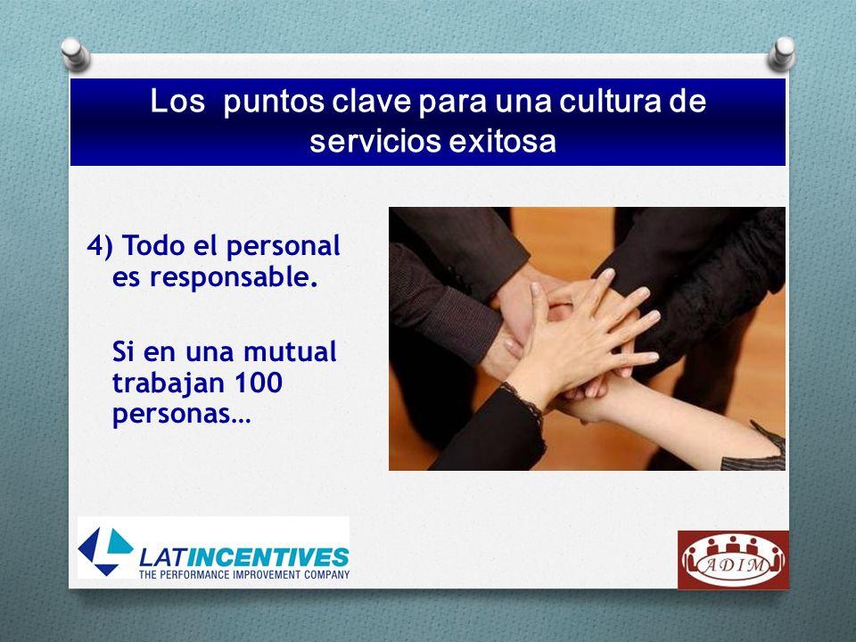 Los 10 puntos clave para una cultura de serviciosexitosa