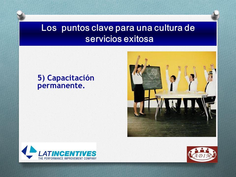 Los puntos clave para una cultura de