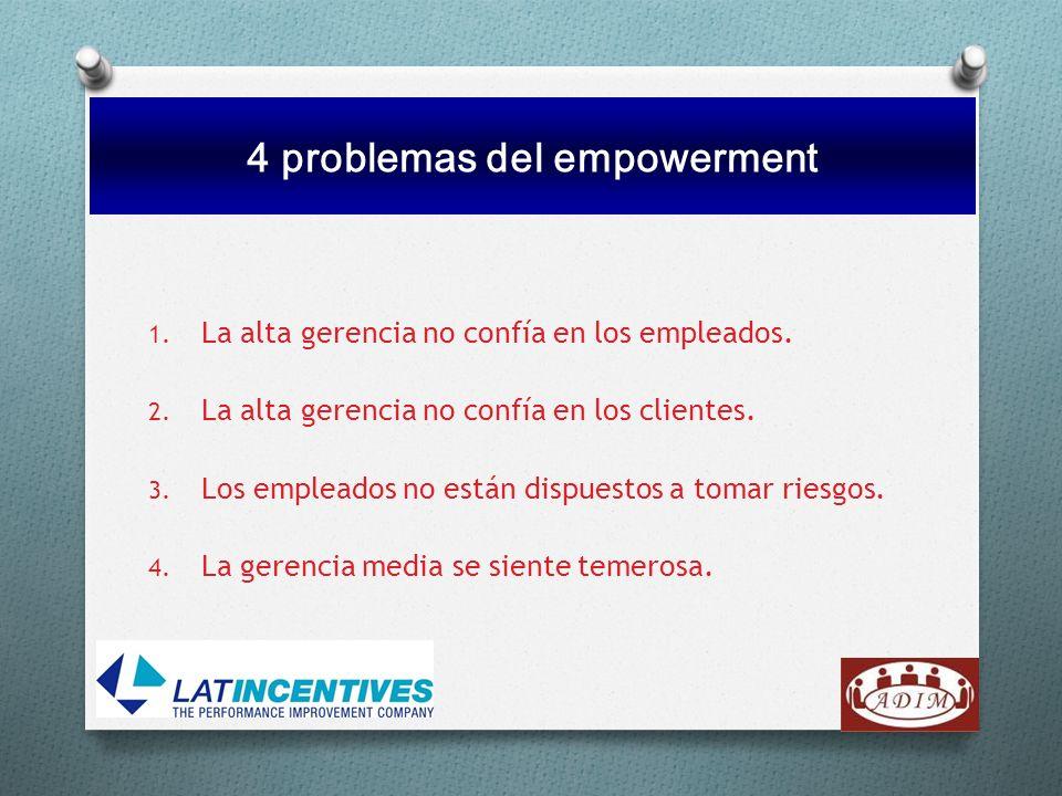 4 problemas del empowerment