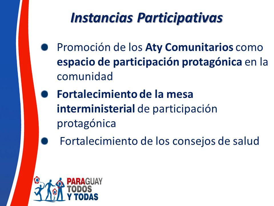 Instancias Participativas