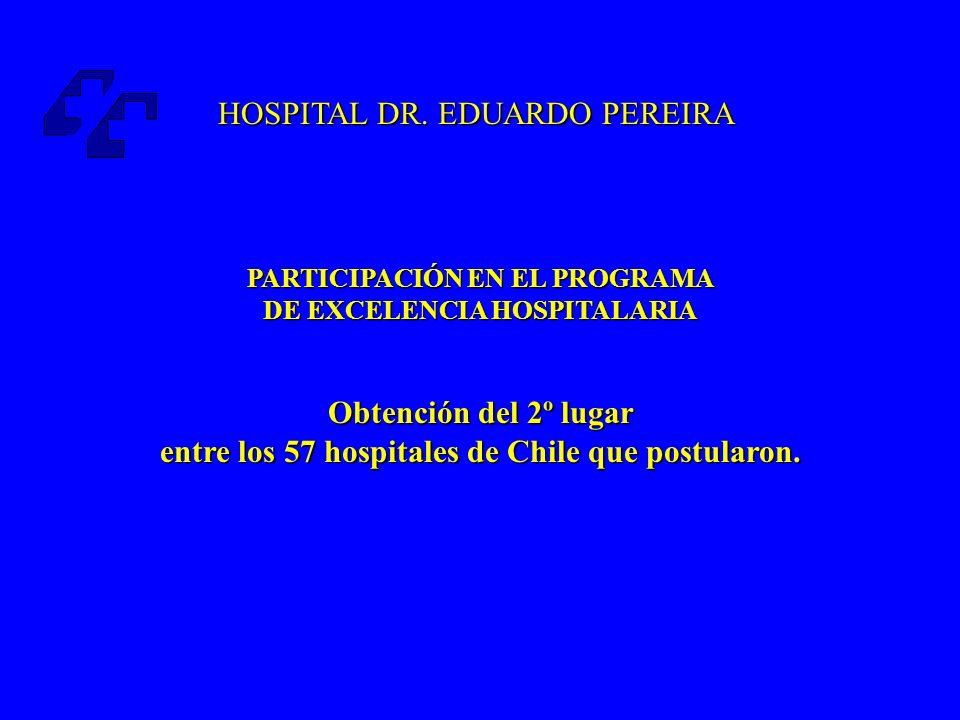 PARTICIPACIÓN EN EL PROGRAMA DE EXCELENCIA HOSPITALARIA