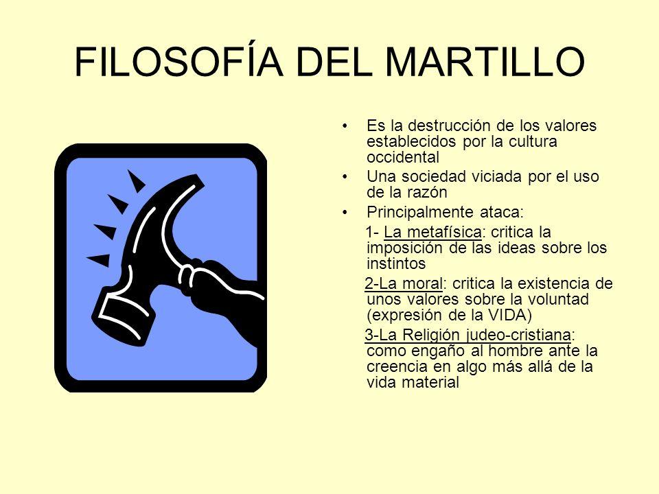 FILOSOFÍA DEL MARTILLO