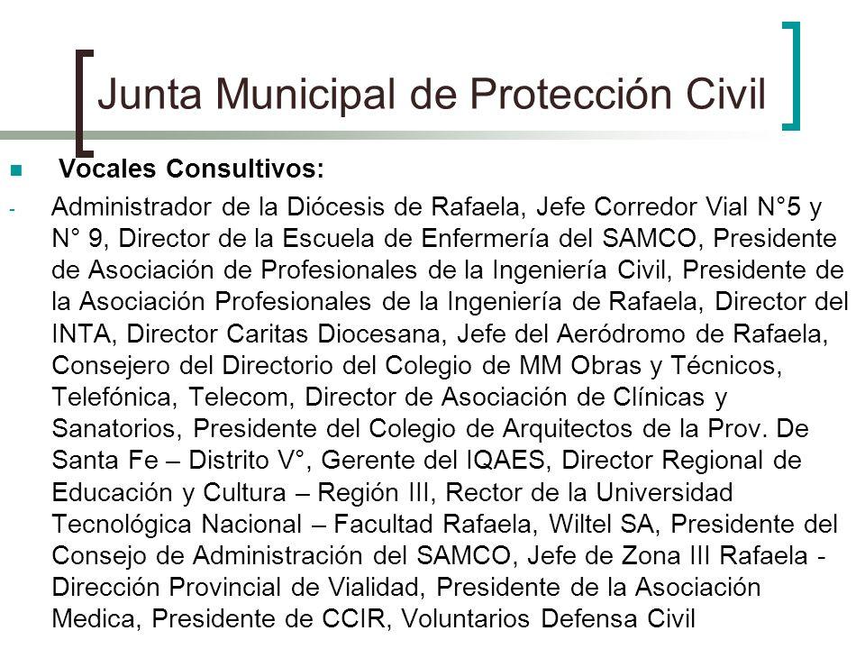 Junta Municipal de Protección Civil