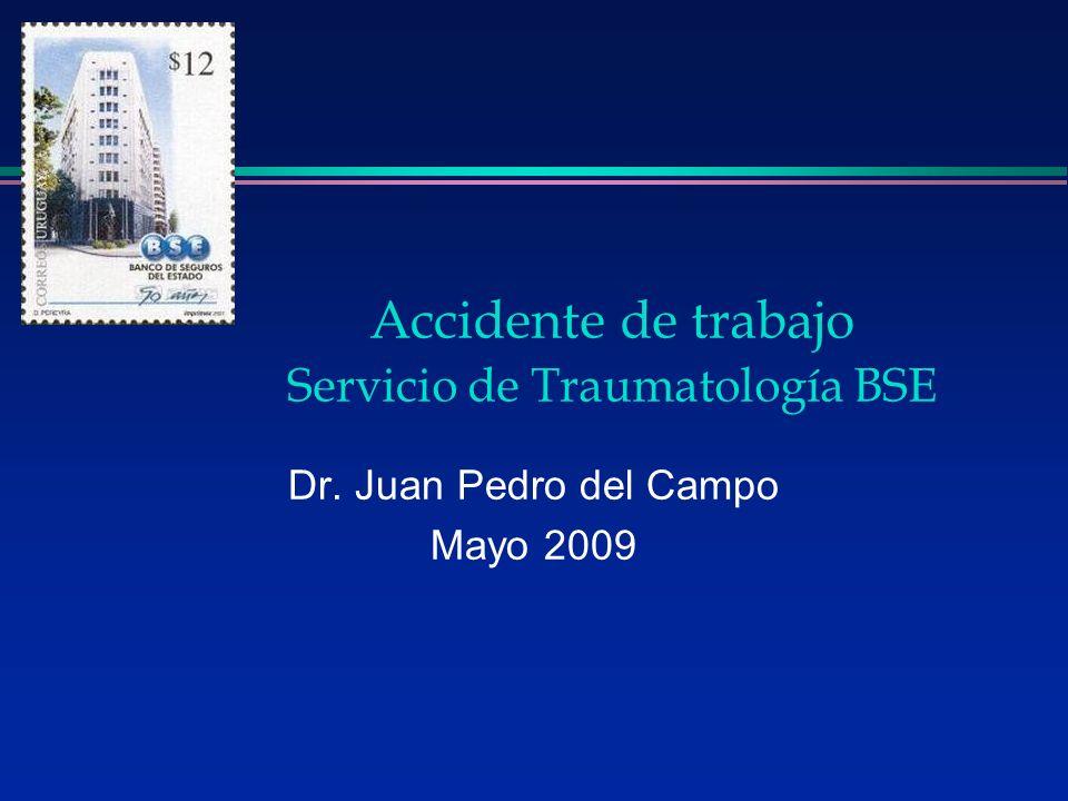 Accidente de trabajo Servicio de Traumatología BSE