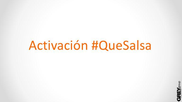 Activación #QueSalsa