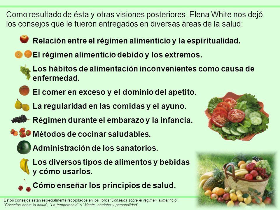 Relación entre el régimen alimenticio y la espiritualidad.