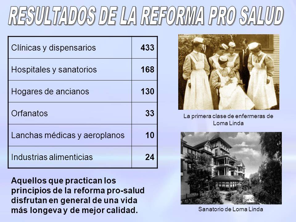 RESULTADOS DE LA REFORMA PRO SALUD