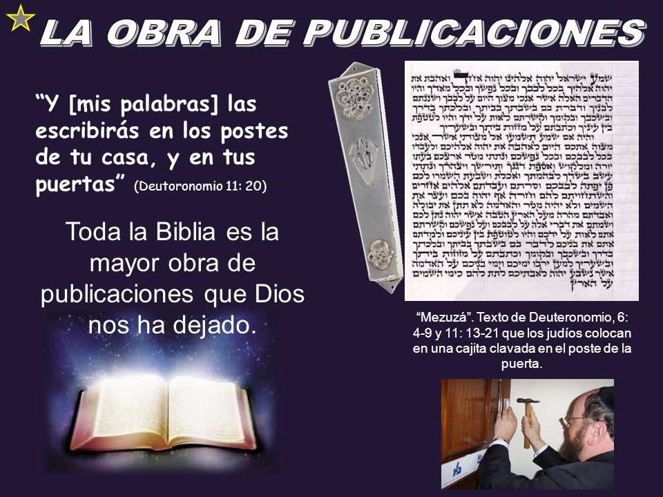LA OBRA DE PUBLICACIONES