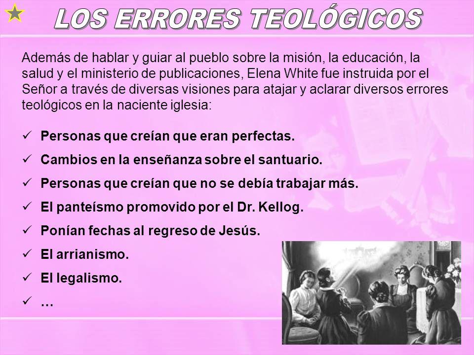 LOS ERRORES TEOLÓGICOS