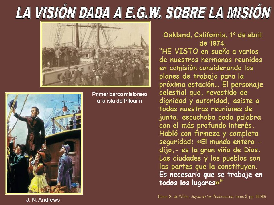 Oakland, California, 1º de abril de 1874.