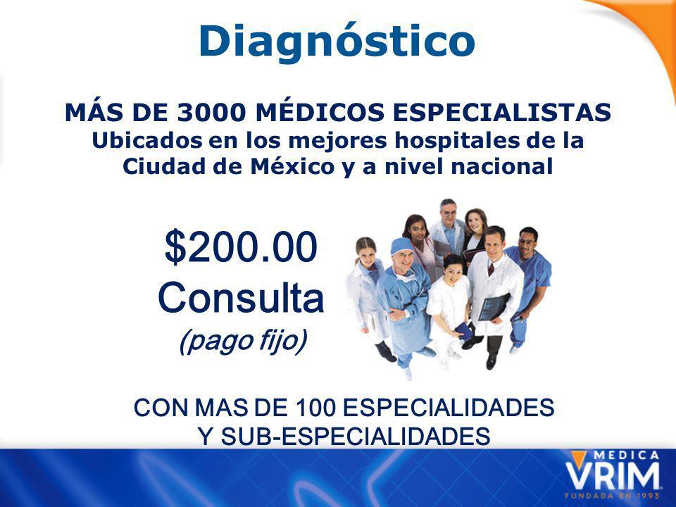 CON MAS DE 100 ESPECIALIDADES