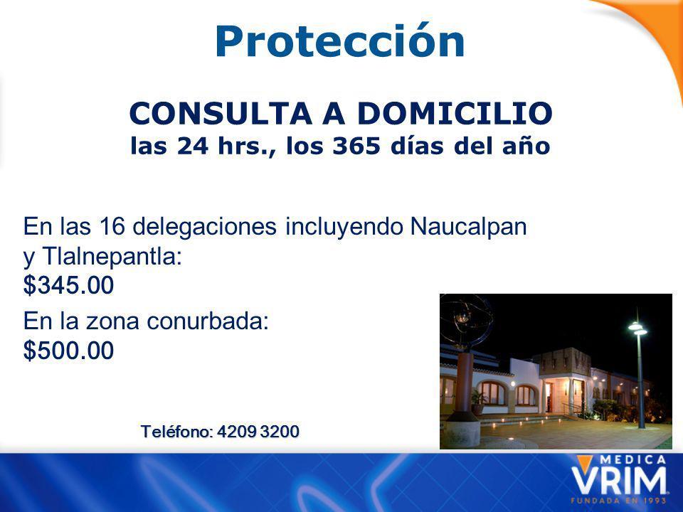 Protección CONSULTA A DOMICILIO